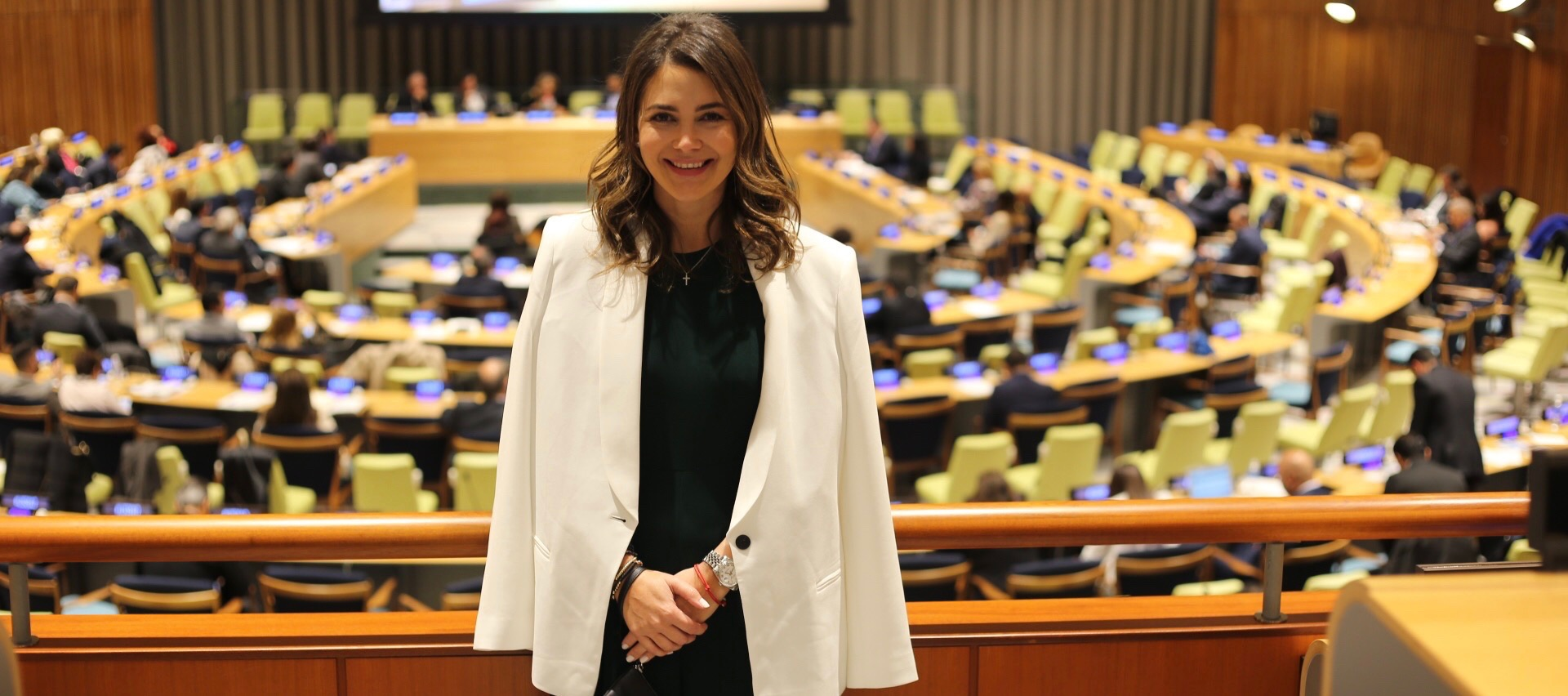 Adriana Castro, diseñadora que alza su voz en la ONU
