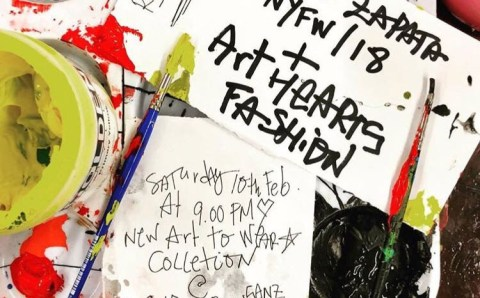 Domingo Zapata, presenta su arte en la New York Fashion Week