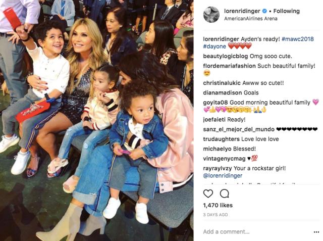 Loren and family
