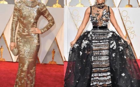 #TBT de las mejor vestidas en la alfombra de los OSCARS 2017