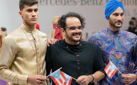 Reynaldo José se presenta con éxito en la 'fashion week' de El Salvador