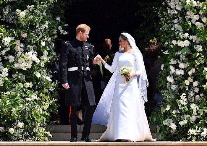 Novia Meghan Markle duquesa de Sussex FOTO GIVENCHY