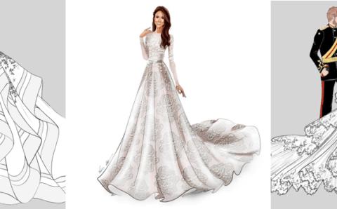 Todos queremos saber cómo será el vestido Meghan
