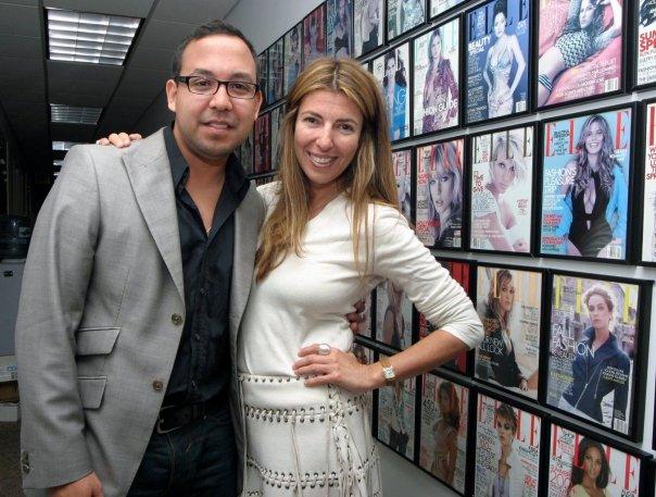 Juan En Vitrina junto a Nina Garcia.
