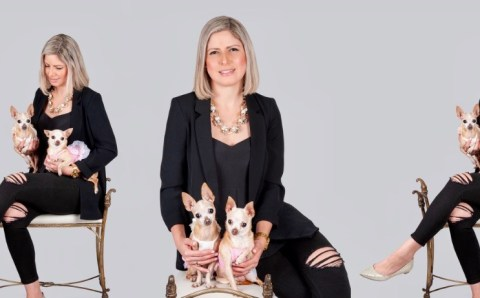 Cindy Deras cambió el rumbo de su vida gracias a sus mascotas