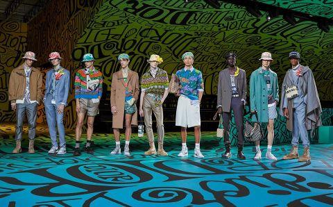Dior Men ilumina Miami un día antes de la apertura de Art Basel 2019