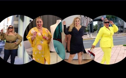Suzanne y su visión de la vida: «La moda y la belleza  no tienen talla»