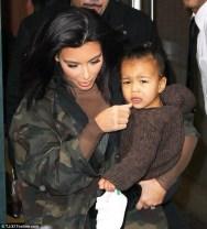 Kim & North West