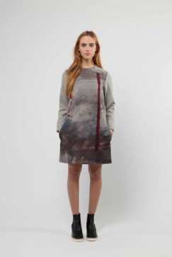 Liminal Dress with Digital Front Panel £440