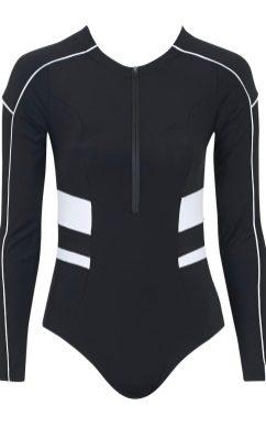 Colour block bodysuit, £105