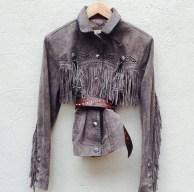 JESSIE Western suede jacket