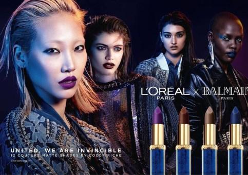 L'Oréal Paris x Balmain Fashion Voyeur 1