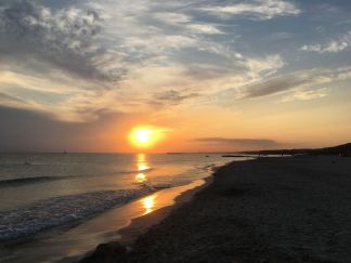 Sunset over Son Bou Pixie Tenenbaum 2