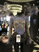 Bella Hadid Blue Crystal Nights Costume Victoria's Secret Fashion Show 2016
