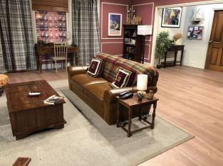 Comedy Central UK's Friends Fest 2018: opposite view of Ross Geller's apartment set