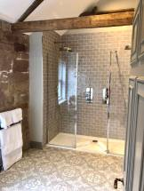 Bathroom inside Muckle Hoose at Beadnell Towers Hotel Fashion Voyeur Blog