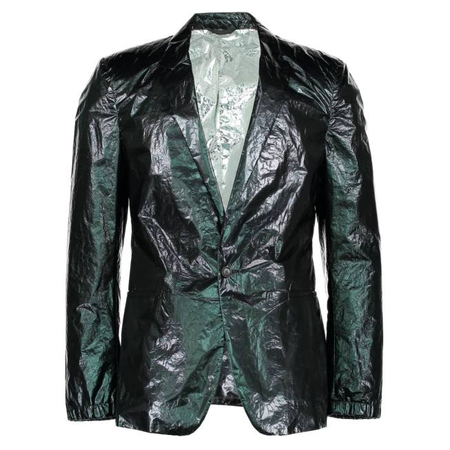 Mylar blazer by Calvin Klein Collection, 2010. ©Westminster Menswear Archive