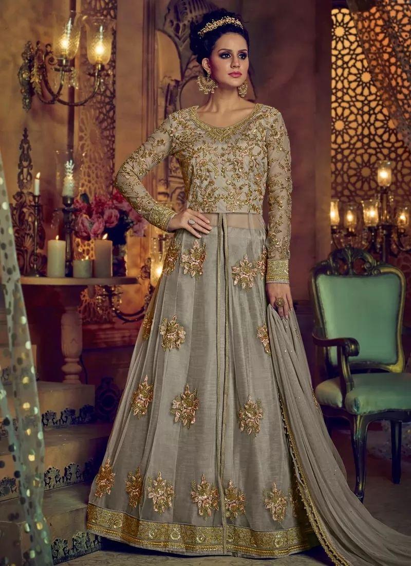 8e8294e7ed Mesmeric Zari Work Banglori Silk Lehenga Choli - Inspirational ...
