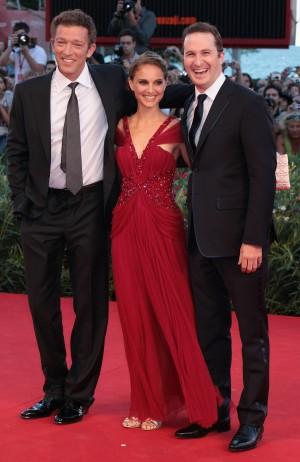 Vincent Cassel, Natalie Portman and Darren Aronofsky