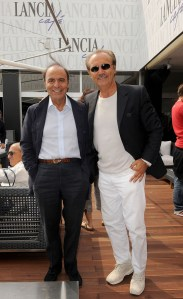 Bruno Vespa and Mauro Ma