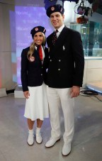 Heather Mitts and Tim Morehouse