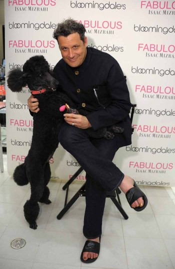 Isaac Mizrahi launched his first fragrance FABULOUS Isaac Mizrahi at Bloomingdale's 59th Street