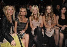 Jennifer Aspen, Kristin Chenowet, Tinsley Mortimer, Harley Viera Newton and Leigh Lezark