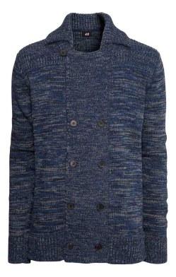 HM Blue Cardigan_$49.95