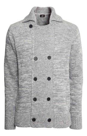 HM Grey cardigan_$49.95