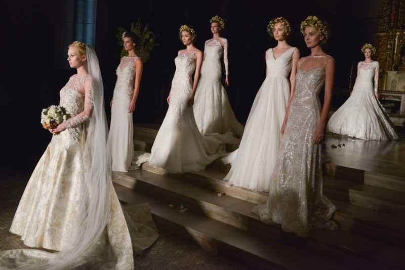 PETRA NEMCOVA + PRONOVIAS Present 2014 Atelier Fashion Show - Arrivals
