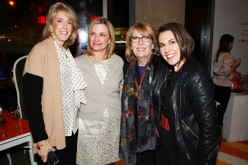 Kathy Hines, Claire Borda, Julie Dimperio, Karen Murray