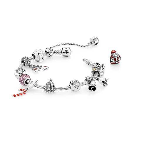 Pandora bracciale Natale
