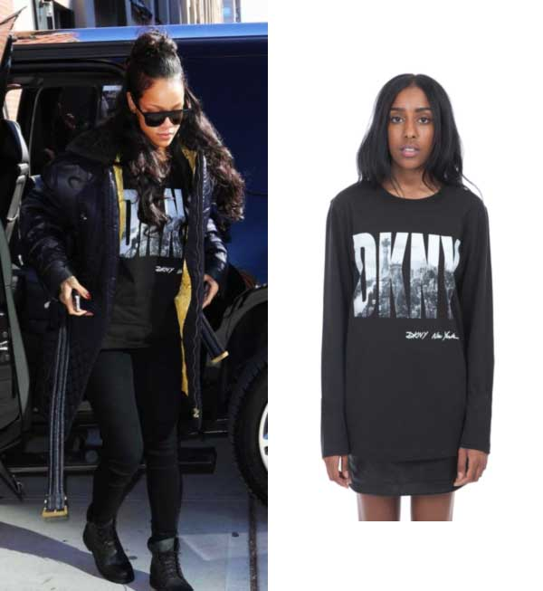 Rihanna DKNY for Opening Ceremony