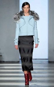 Wes Gordon Womenswear Fall Winter 2014 New York Fashion Week February 2014