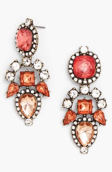 Mixed Stone Drop Earrings_$38_Item 347072