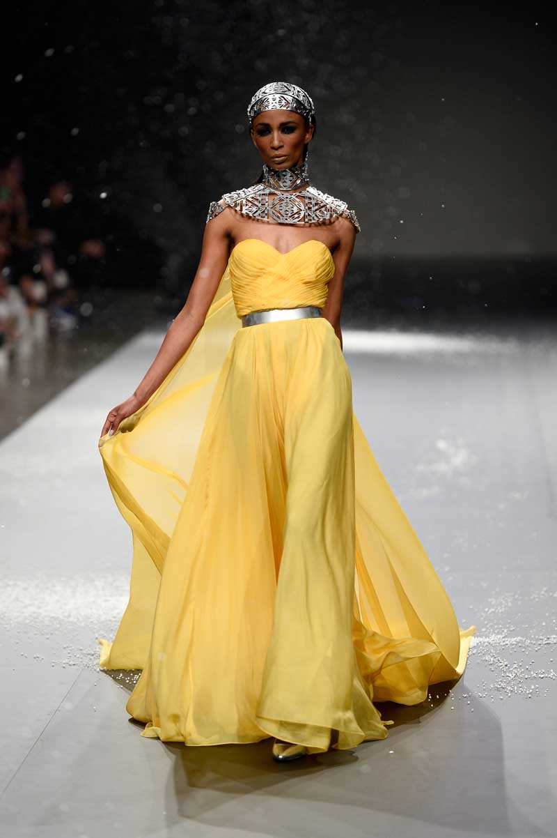 Ezra - Runway - Fashion Forward Dubai April 2014