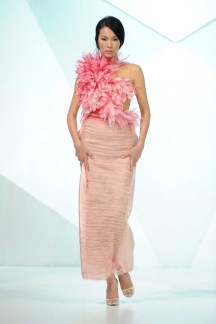 Jean Louis Sabaji - Runway - Fashion Forward Dubai April 2014