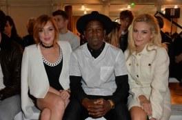Lindsay Lohan, Labrinth and Pixie Lott