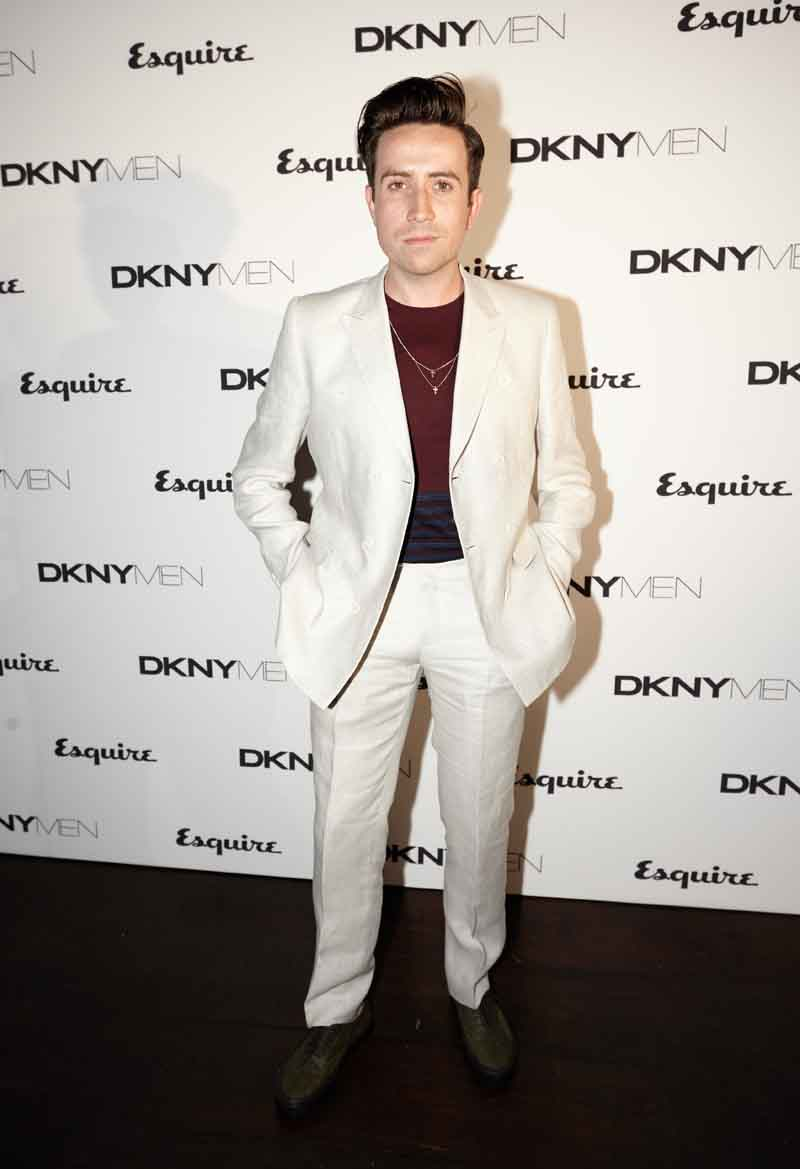 Esquire and DKNY MEN official opening night party of London: Mens Collections at One Embankment, London, Britain - 15 June 2014
