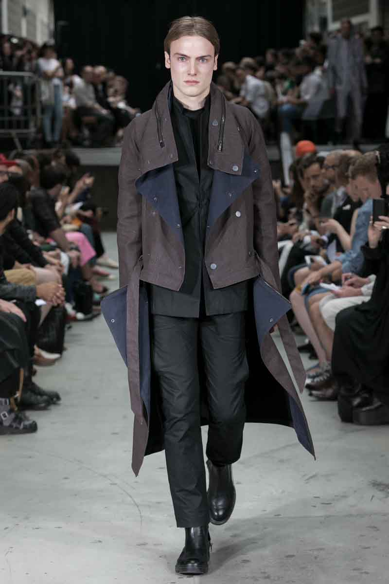 Y/Project Show in Paris, Menswear Fashion Week, Collection Spring Summer 2015