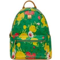 Blume Paradiso Flower Visetos Backpack Green 1