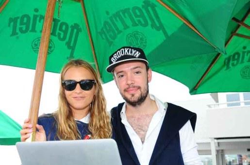 Charlotte Ronson & Ben Lovett