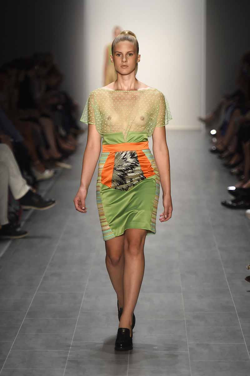 Marcel Ostertag Show - Mercedes-Benz Fashion Week Spring/Summer 2015