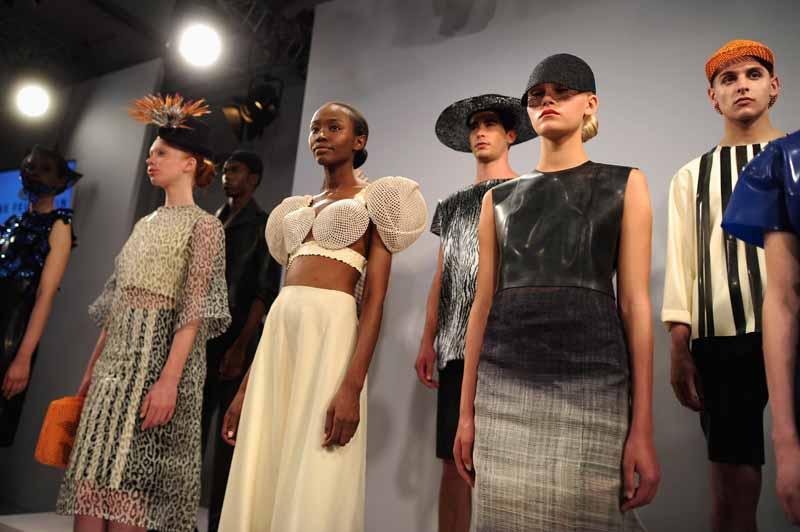 Rike Feurstein Show - Mercedes-Benz Fashion Week Spring/Summer 2015