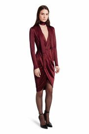 Beautifully cut and tailored, this wrap dress is figure flattering party wear. Black ankle strap heels are the perfect pairing for this luxurious look. LOOK 22 Wrap Dress in Red, $39.99** Ankle Strap Shoe in Black, $39.99* *TARGET.COM EXCLUSIVE ** AVAILABLE GLOBALLY ON NET-A-PORTER.COM