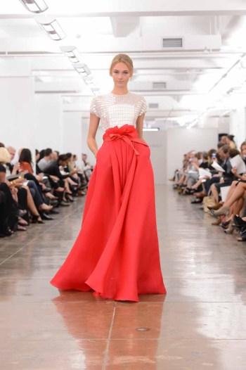Carmen Marc Valvo - Runway - Spring 2013 Mercedes-Benz Fashion Week