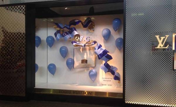 Louis Vuitton Store Window