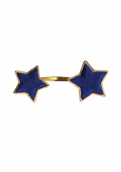 ILU1182 Cassiopeia bague Lapis Lazuli