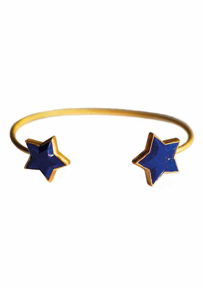ILU1216 Cassiopeia bracelet Lapis Lazuli