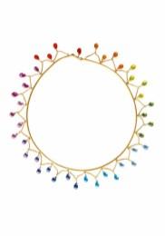 ILU1231 collier Arlequin